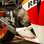Honda Fireblade GTechniq C1 and EXO protected